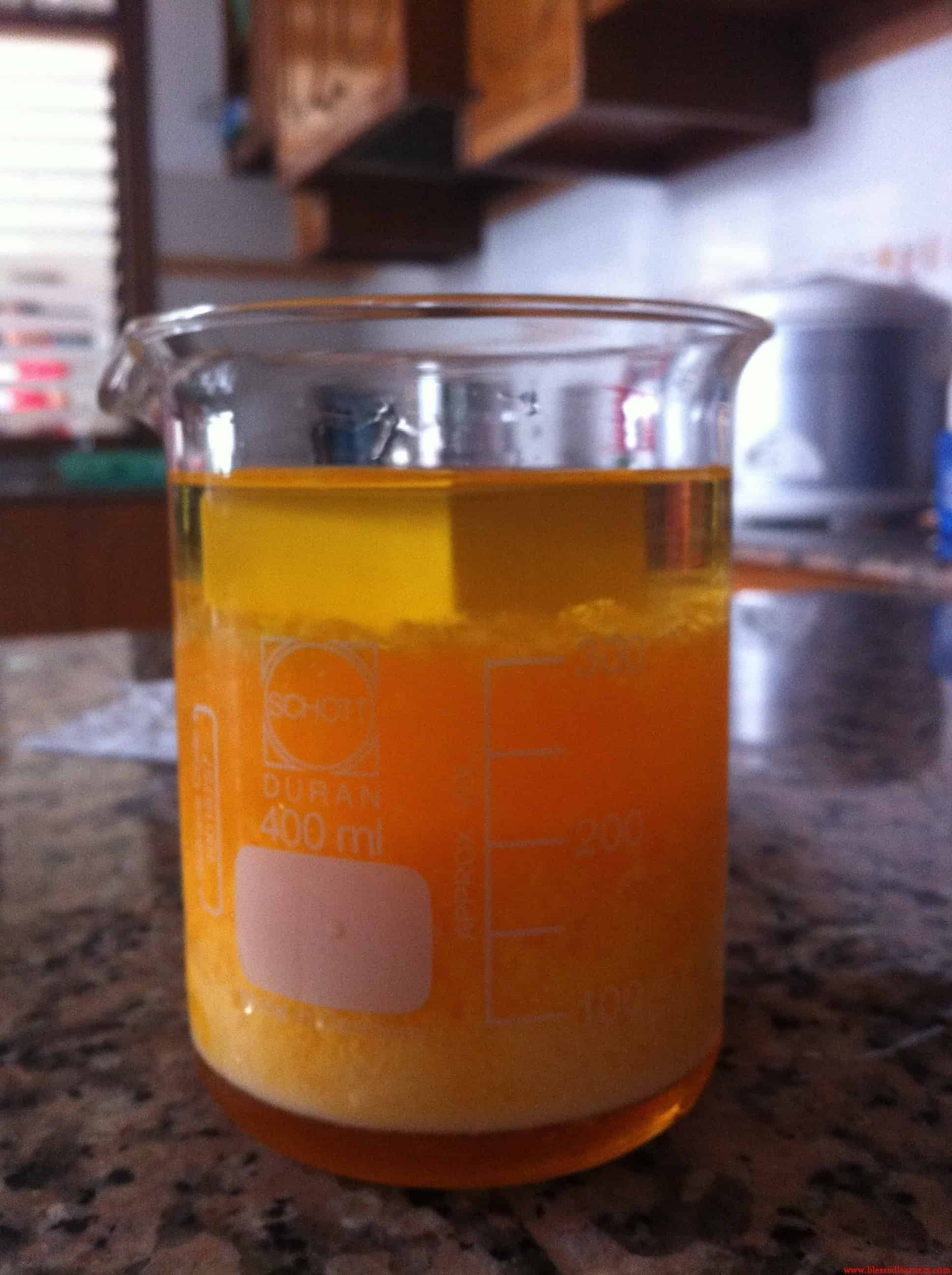 First Chemistry Experiment: Density