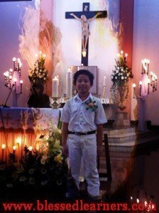 Tom First Holy Communion