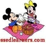 "Our ""Mickey – Minnie"" Picnic Day"