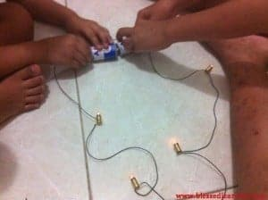4-lightbulbs series circuit