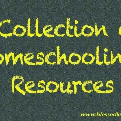 A Collection of Homeschooling Resources