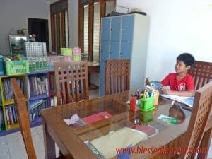 Reading books in Big Table