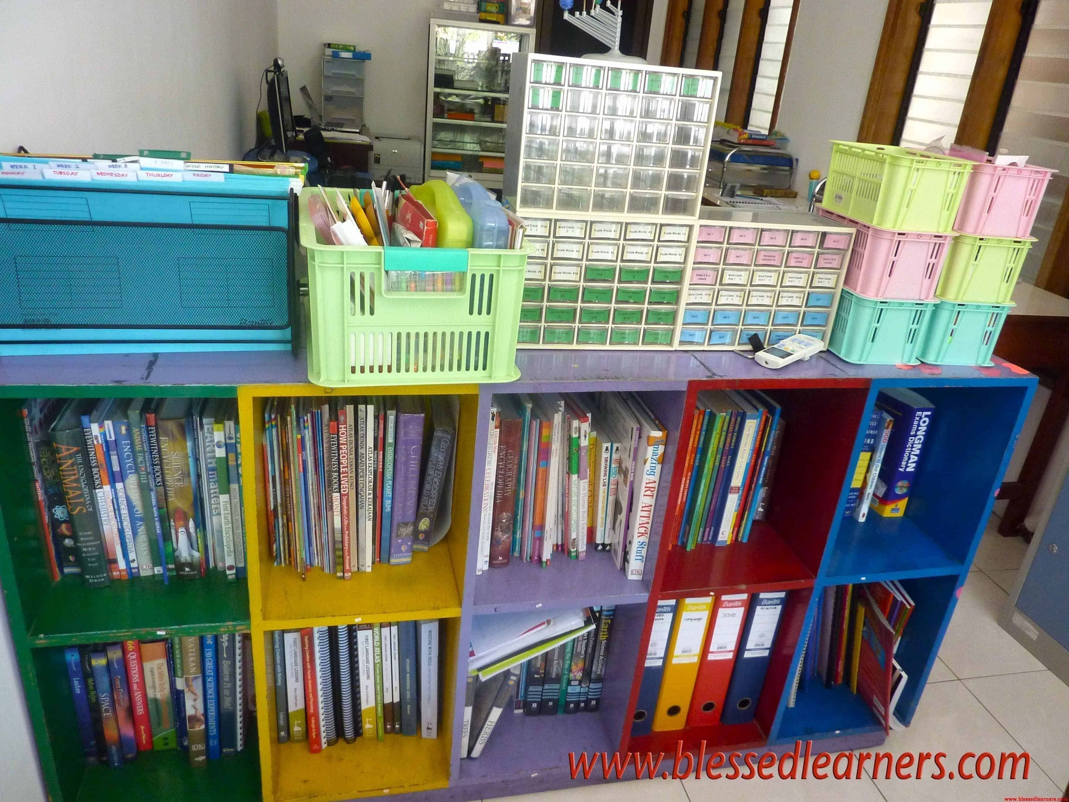 reference book shelf hanging folder arts box blessed learners