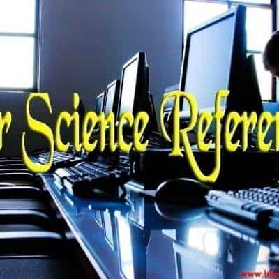 Our Science References