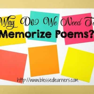 10 Reasons to Memorize Poems