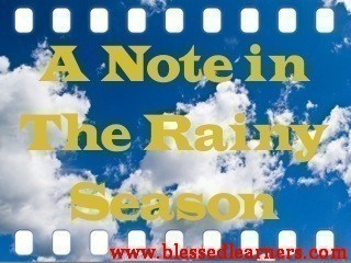 A Note in The Rainy Season