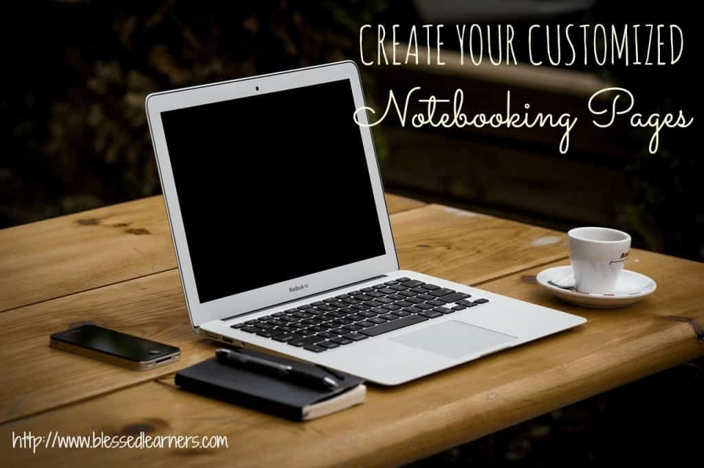 Create Your Customized Notebooking Pages