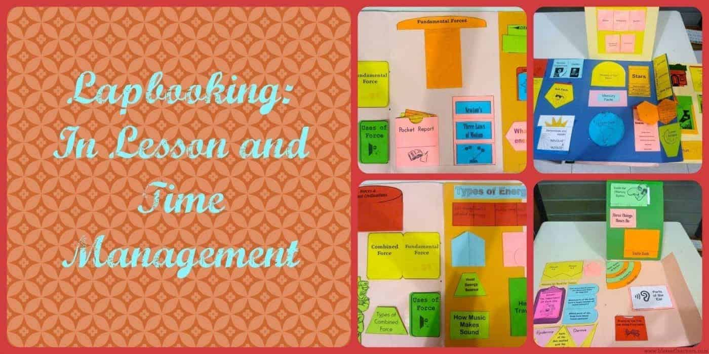 Lapbooking In Lesson and Time Management