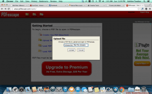 Step 2. Choose the file you want to upload