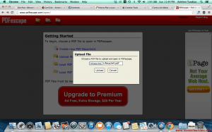 Step 4. Click upload