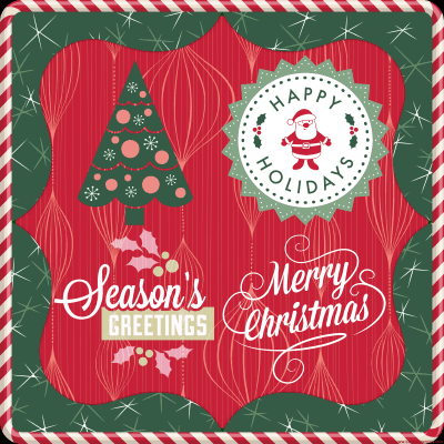 Happy Holidays and Merry Christmas From Our Family to Yours