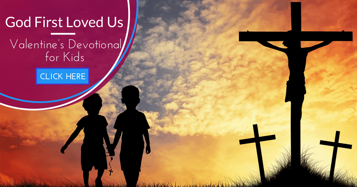 God First Loved Us: A Valentine's Devotional Journal for Kids: A Review