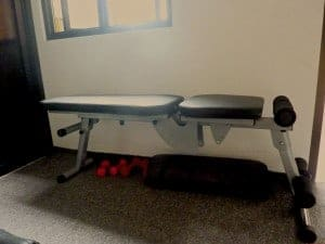 We can do a lot of movement using this bench. It looks so simple, but this is a great investment.