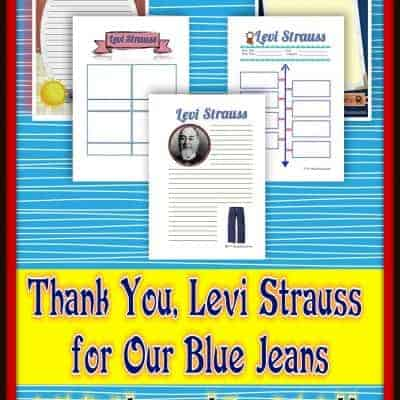 Thank You Levi Strauss For Our Blue Jeans