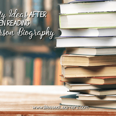 12 Ideas of Biography Reading Comprehension Activities for Children