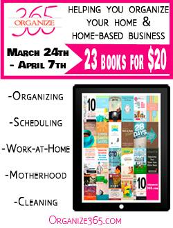 Getting Organized with a Wonderful E-Bundle