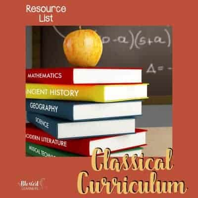 Classical Curriculum Resource List