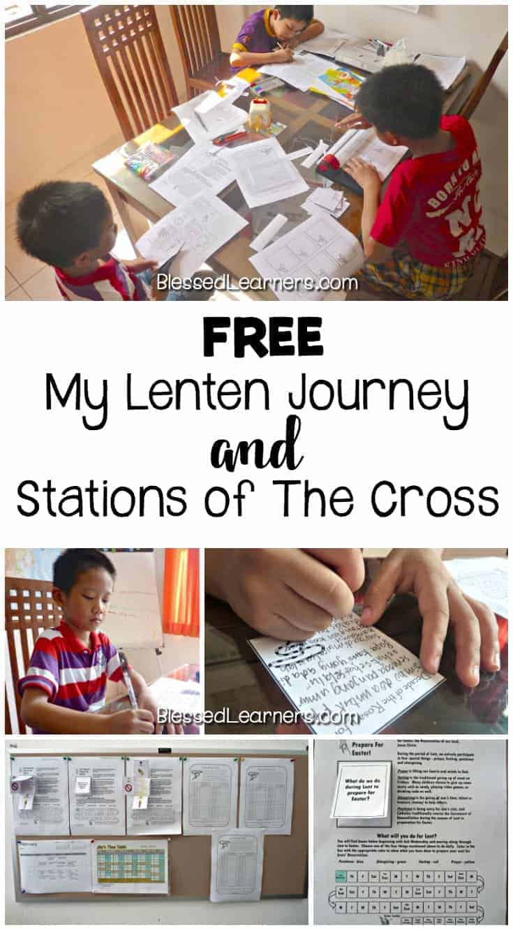 It is not easy to introduce lenten to kids. Therefore, I was looking for Activities to Introduce Lenten for Kids. Here are some free lenten journey and stations of the cross printables to accompany lenten activities.