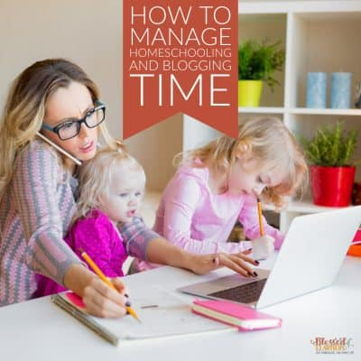 Keep A Well Balanced Juggle of Homeschooling and Blogging