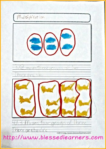 Multiplication Notebooking