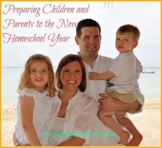 Preparing Children and Parents to the New Homeschool Year