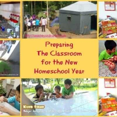 Preparing The Classroom for the New Homeschool Year (2014-2015)