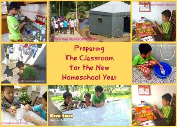 Preparing The Classroom for the New Homeschool Year