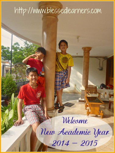 Welcome New Academic Year 2014-2015