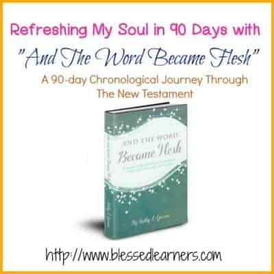 "Refreshing My Soul in 90 Days with ""And The Word Became Flesh"""