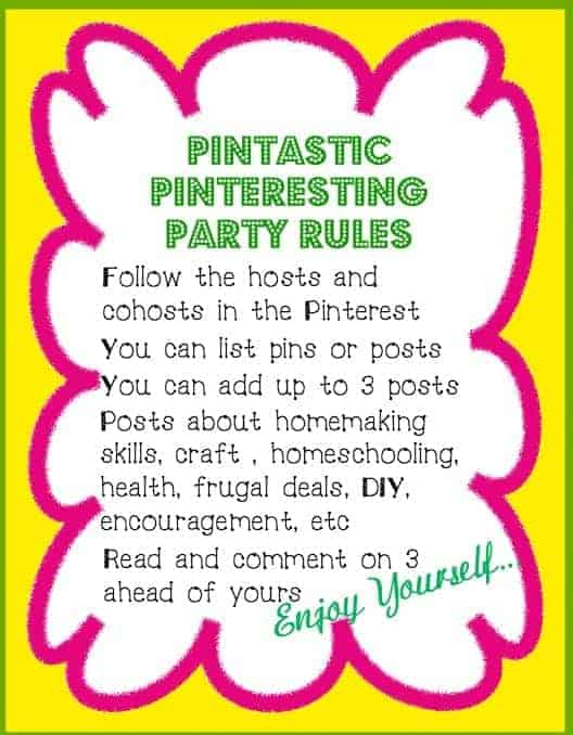 Pintastic Pinteresting Party Rules