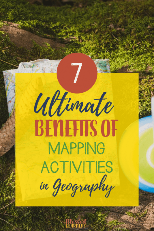 Learning about the world, the continents, and the countries is not separable from the mapping activities in geography. There are other activities that can help children to learn about the places, but we still need to know these 7 reasons to do some ways to get familiar with map in Geography #Homeschool #Geography #TeachingIdeas