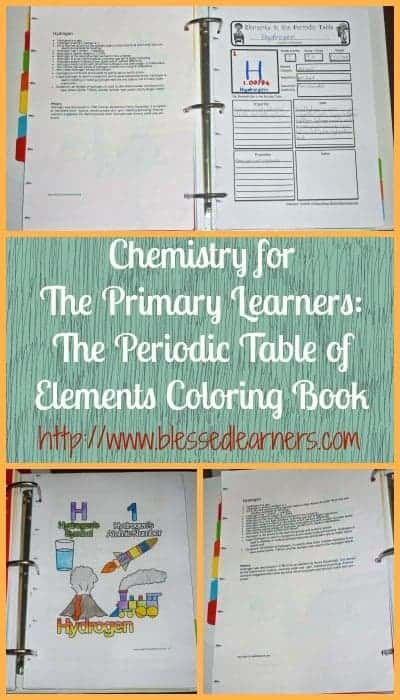 Chemistry for the primary learners the periodic table of elements chemistry for the primary learners the periodic table of elements coloring book urtaz Images