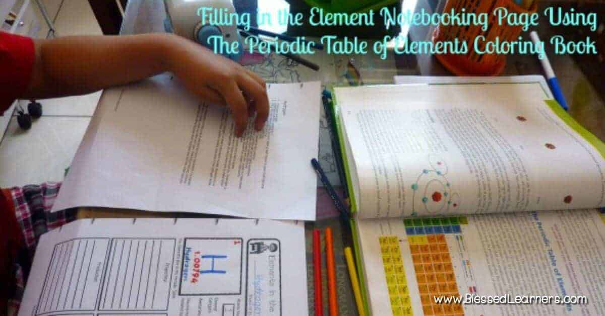 Chemistry for the primary learners the periodic table of elements chemistry for the primary learners the periodic table of elements coloring book blessed learners urtaz Images