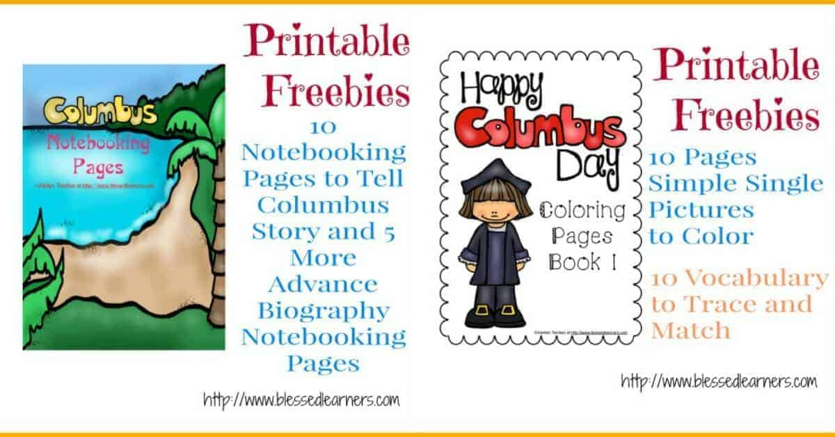 FREE Christopher Columbus Units and Resources - Blessed Learners