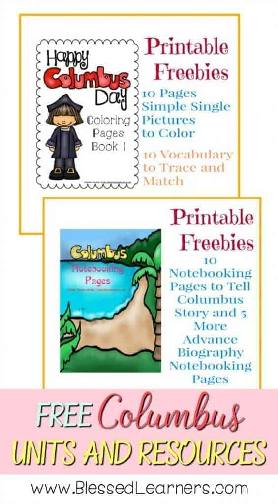 FREE Christopher Columbus Units and Resources pin