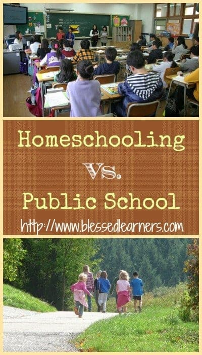 public school vs homeschool Homeschool has had a stigma for years, but now families have shown that homeschool students may be just as successful, if not more, than their public school peers the choice is now with you to determine if homeschool is right for you and your family.
