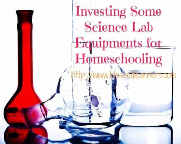 Investing Some Science Lab Equipments for Homeschooling