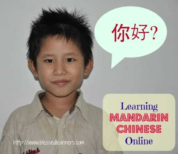 Learning Mandarin Chinese Online