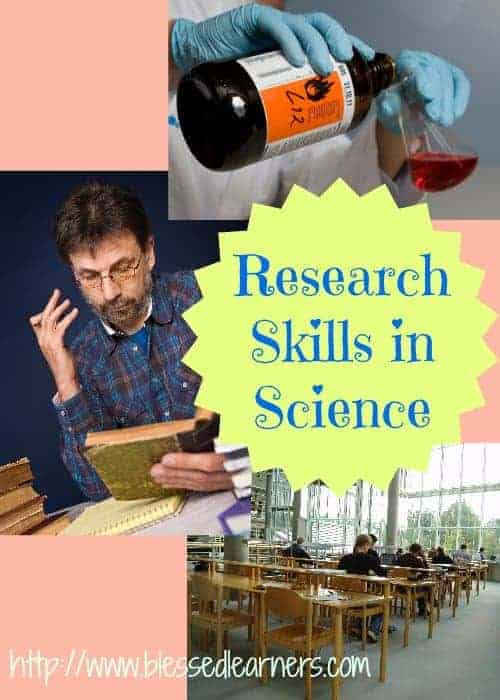 Research Skills in Science