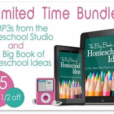 Surprising Bundle, Tour, and Giveaway: iHomeschool Studio and Big Book of Homeschool Ideas