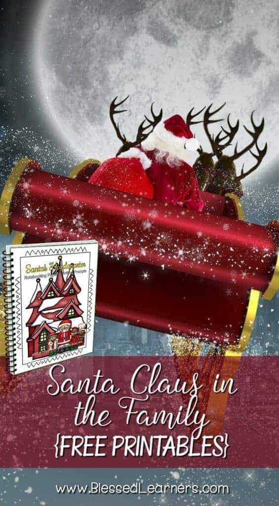 Santa Claus in the Family - FREE printables