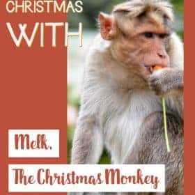 Who is another hero of Christmas other than Santa? Here is Melk, the Christmas Monkey who is going to help you prepare the #Christmas #ChildrenActivity