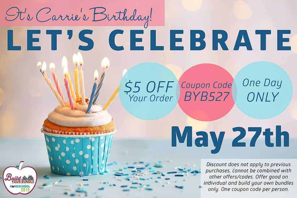 BYB15 Birthday Coupon