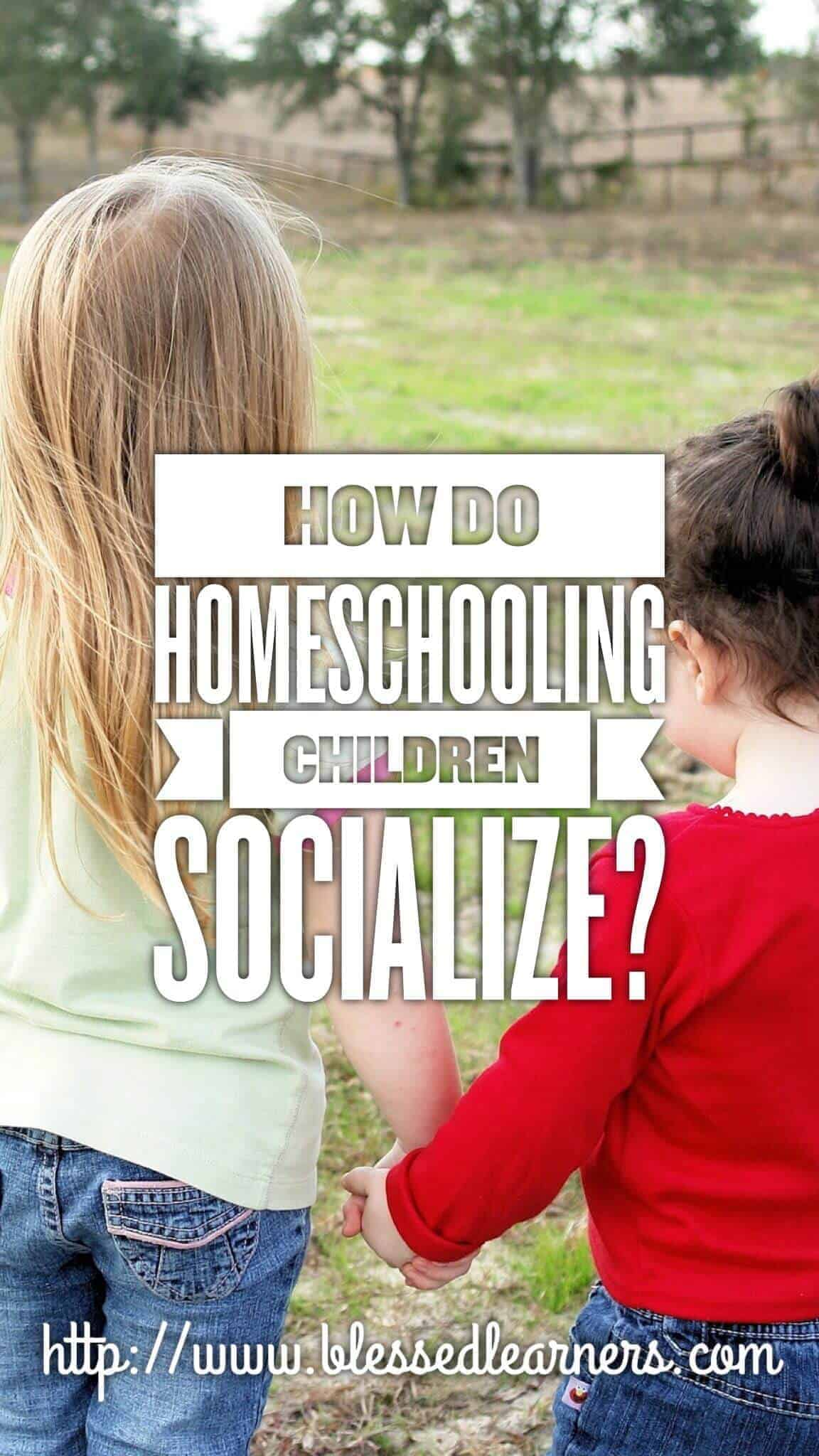 How do homeschooling children socialize