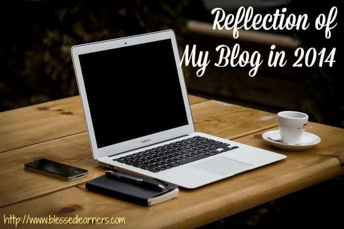 Reflection of My Blog in 2014