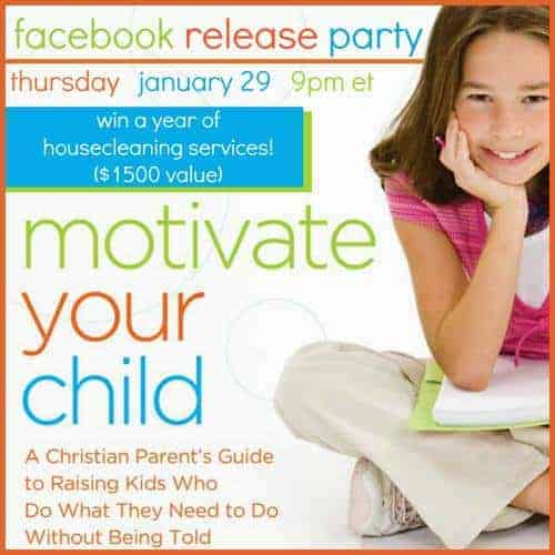 Motivate Your Children Facebook Party