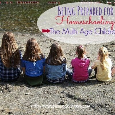 Being Prepared for Homeschooling The Multiple Age Children