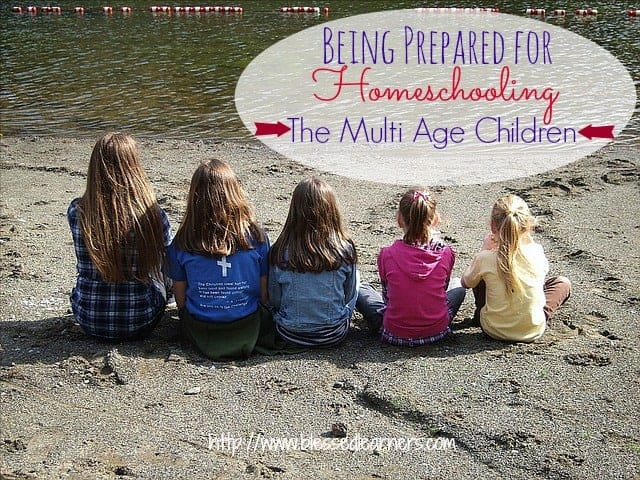 Being Prepared for Homeschooling The Multi Age CHildren