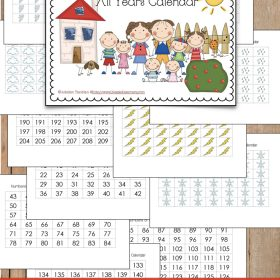 FREE Blank Monthly Calendar printable for all year uses. It is unbelievable that it is very useful and great to combine with the Student Planner.
