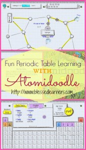 Fun Periodic Table Learning with Atomidoodle